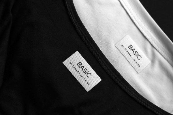 basic by tamara lukovics labels
