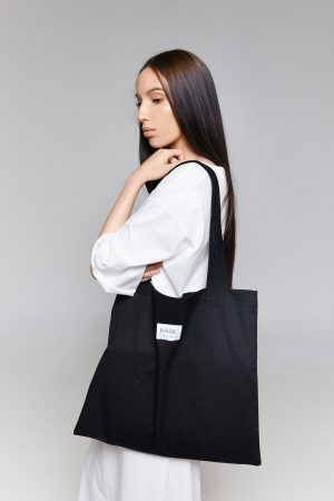 BASIC TOTE BAG BLACK